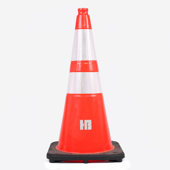 "Hot Bricks Cone 28"" Reflective"