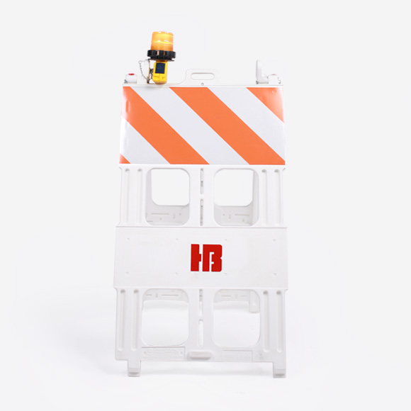 Hot Bricks Barricade with light