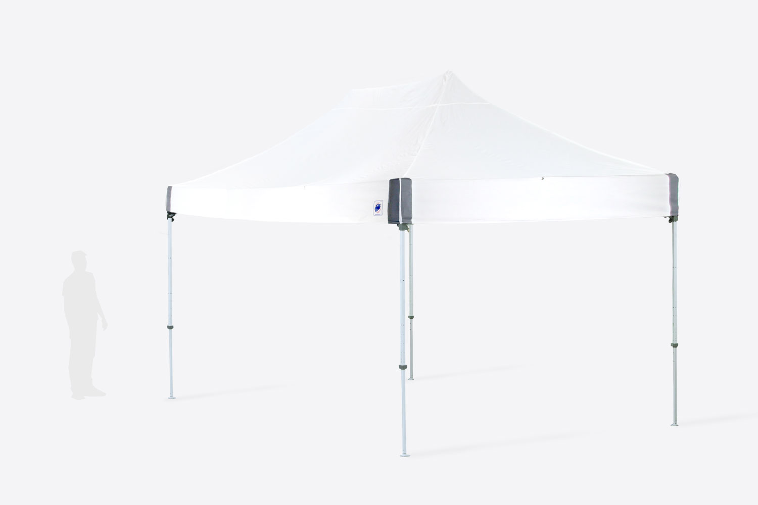10x15 Pop Up White Tent