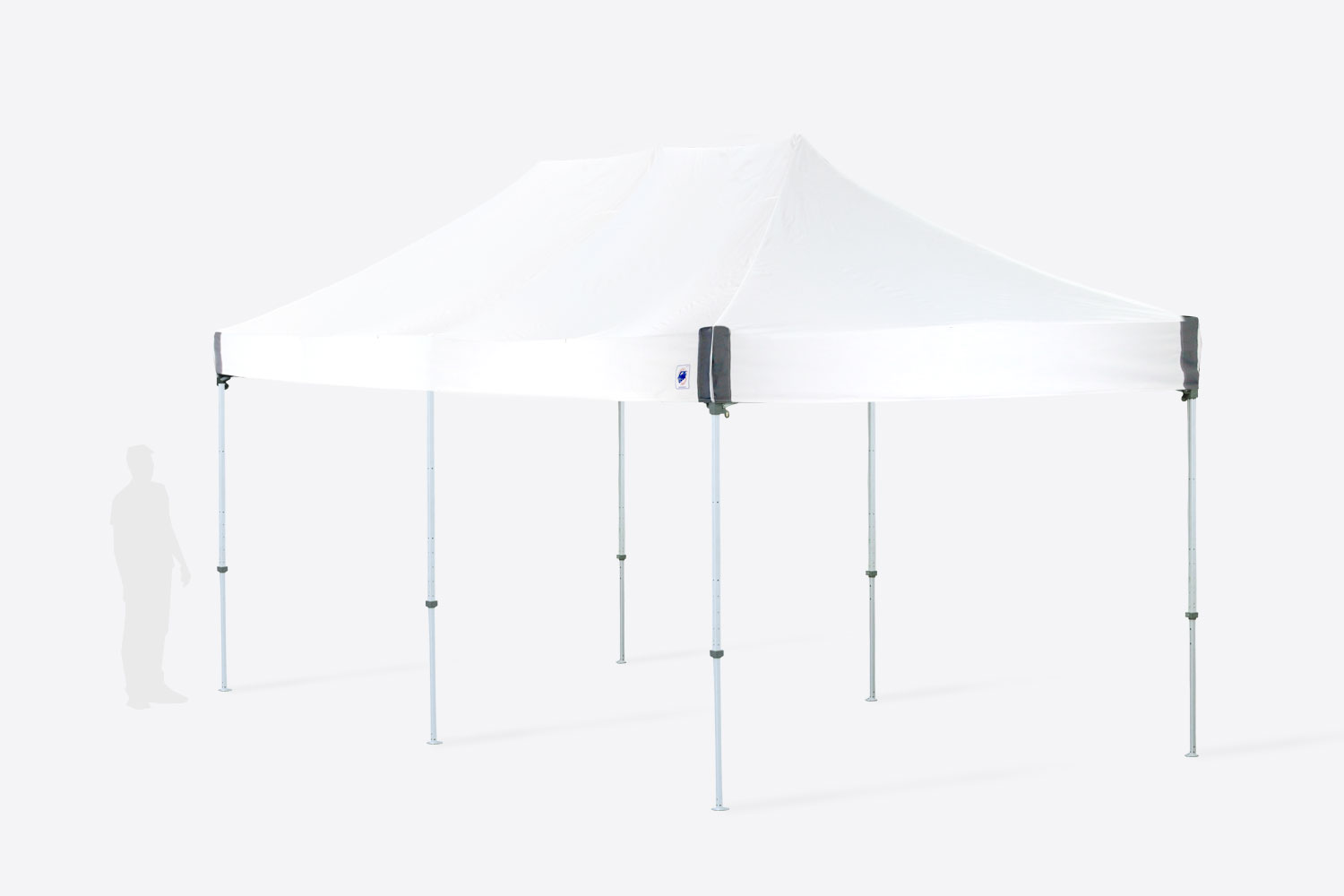10x20 Pop Up White Tent
