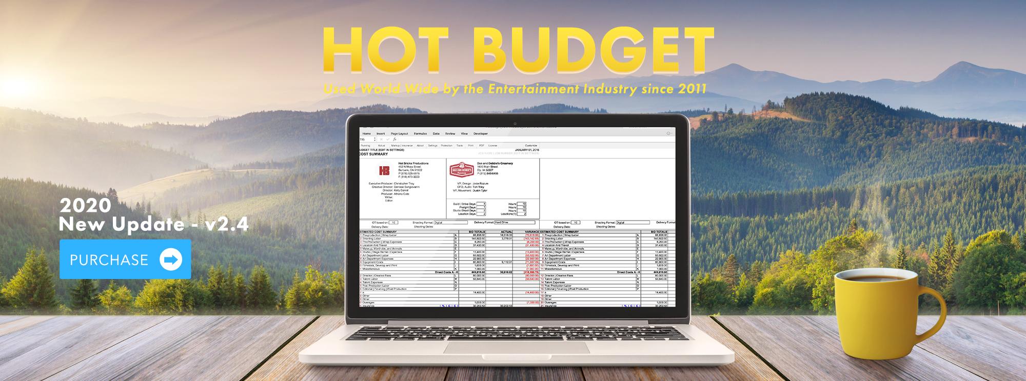 Hot Budget v2.4 2020