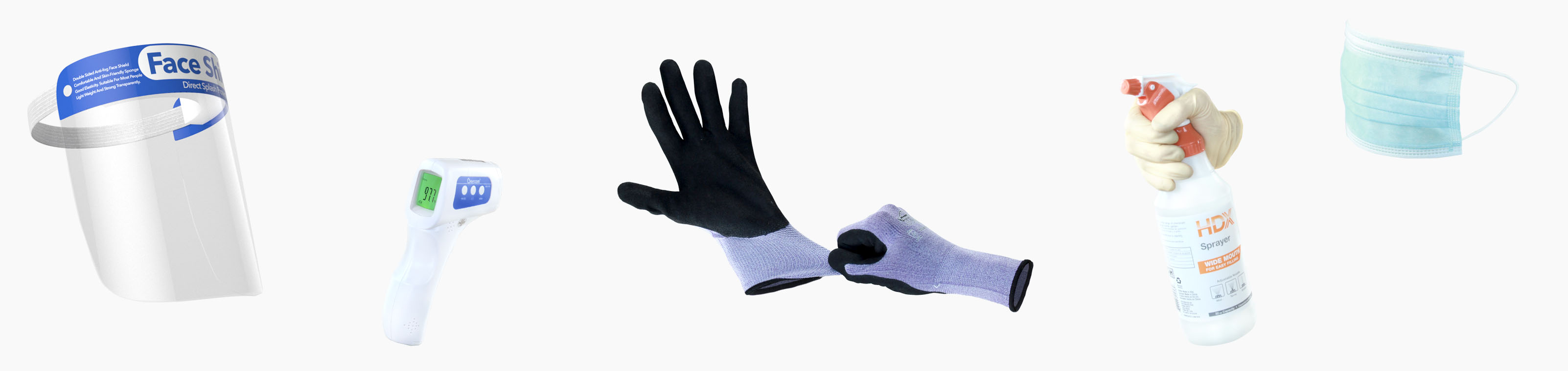 images of safety supplies PPE