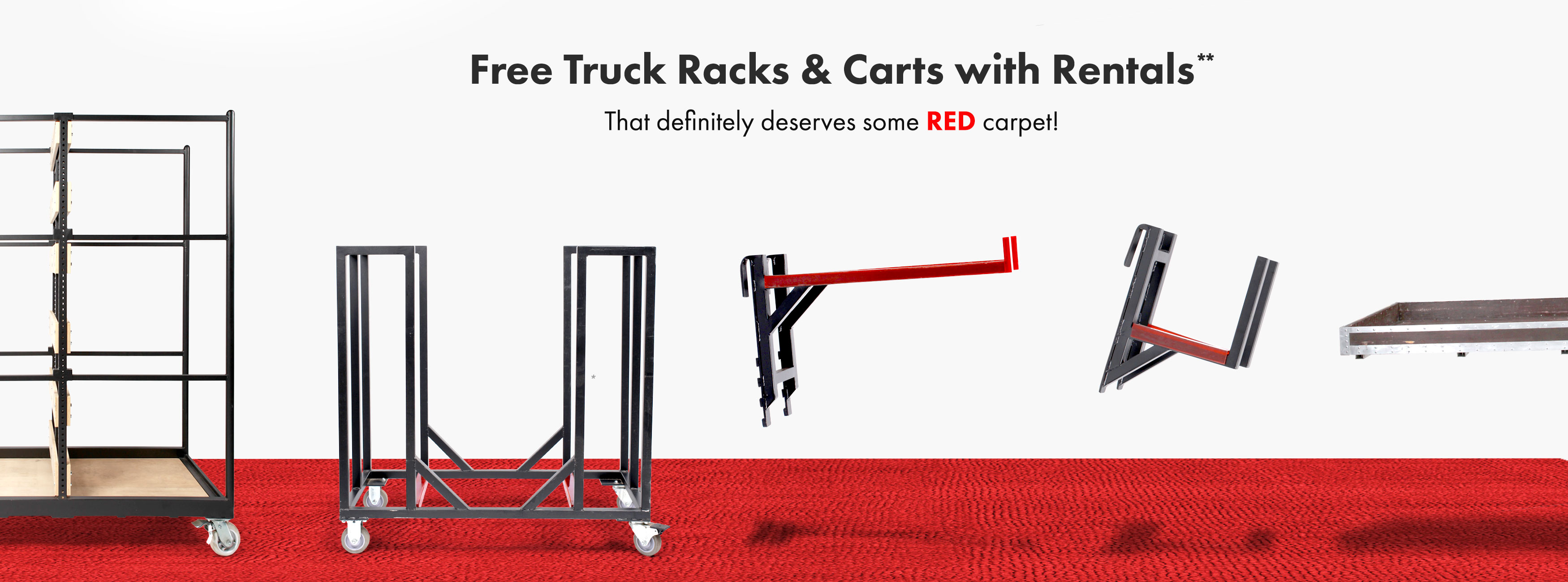 free racks and carts*